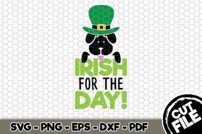 Irish For The Day Dog Bandana SVG Cut File n163