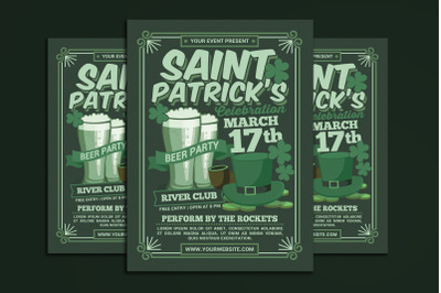 St Patricks Day Beer Party Celebration