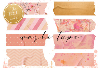 Washi Tape Clipart Set