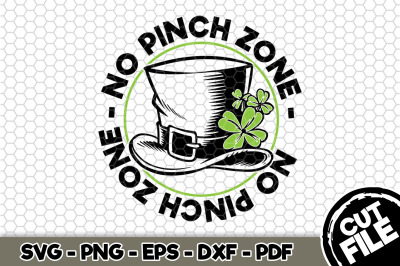 No Pinch Zone SVG Cut File n175