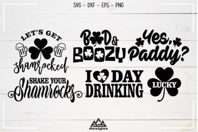 St Patricks Day Packs Svg Design