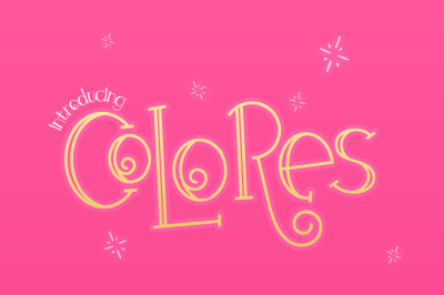 Colores Font Duo