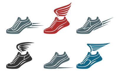 Sport Shoes Emblem Set