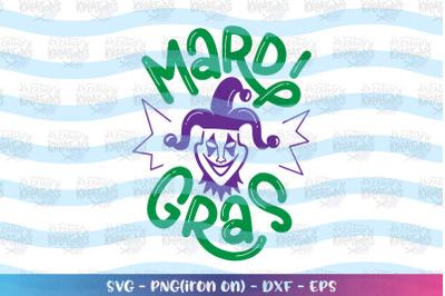 Mardi Gras svg Clown Joker