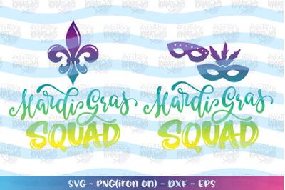 Mardi Gras svg Mardi Gras Squad svg Krewe