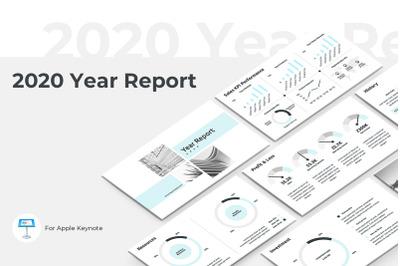 2020 Year Report Keynote Presentation Template