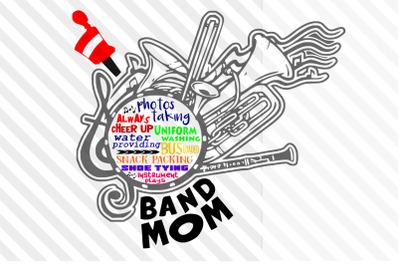 Music/Band/Music note/Mom/Sport