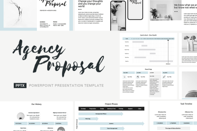 Agency Proposal PowerPoint Template