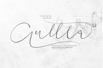 Aullia Modern Calligraphy