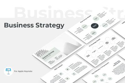 Business Strategy Keynote Template