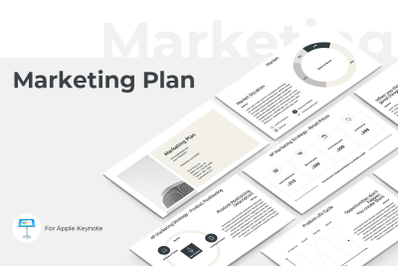Marketing Plan Keynote Presentation Template
