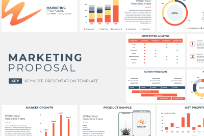 Marketing Proposal Keynote Template