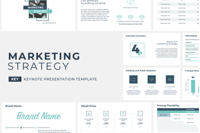Marketing Strategy Keynote Template