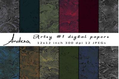 Artsy digital papers