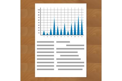 Annual report, triangular diagrams