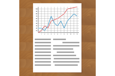 Statistics comparing graph curves