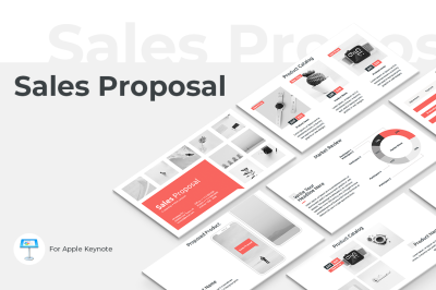 Sales Proposal Keynote Template