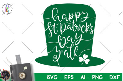 St. Patrick's Day svgHappy St. Patrick's Day y'all svg