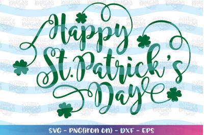 St. Patrick's Day svg Happy St. Patrick's Day svg