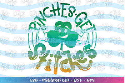 St. Patrick's Day svg Pinches get stickes