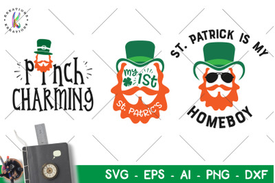 St. Patrick's Day svg St Patrick is my homeboy pinch charming