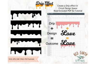 Drip effect bundle SVG, Honey drip SVG,Ice cream drip bundle SVG,PNG