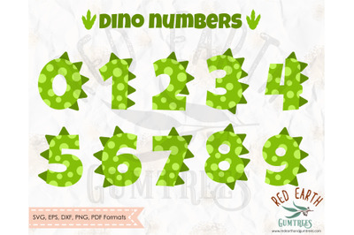 Dinosaur theme numbers SVG,dinosaur theme party dotted numbers SVG,DXF