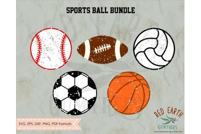 Distressed Sports ball SVG,Distressed baseball SVG,distressed football