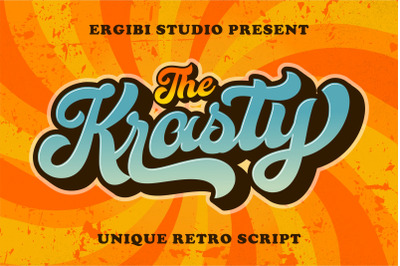 Krasty ~ Unique Retro