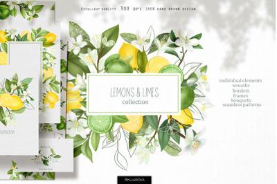 Lemons & limes collection