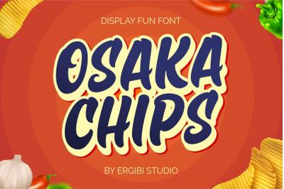 Osaka Chips - Fun Font -
