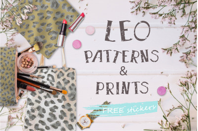 Leo patterns and prints