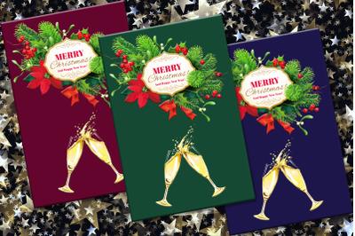 Christmas, Postcard, Digital Postcard, Christmas Cards