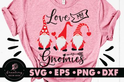 Love My Gnomies SVG