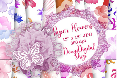 Flowers Patterned, Floral Pattern, Flowers Background