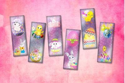 Digital Easter Bookmarks,Easter Bookmarks,Printable Easter