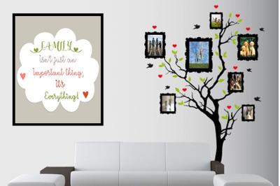 Family Mock up - Digital Wallpaper, family, wallpaper