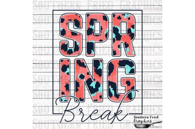 Spring Break V2 Printable Digital Graphic