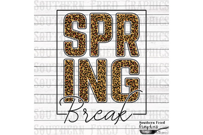 Spring Break Printable Digital Graphic