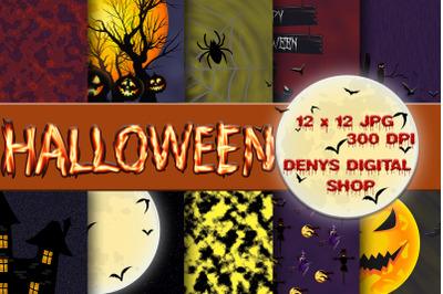 Halloween, Halloween Scrapbooking, Halloween Digital