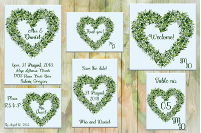 Heart Love Wedding Invitation Card,wedding,invitation