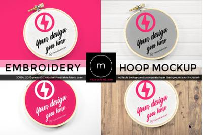 Embroidery Hoop | Mock Up