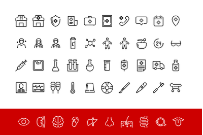 Medical Iconpack