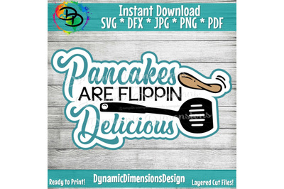 Pancake SVG, Pancakes are flippin Awesome svg, Pancakes clipart, Scrap