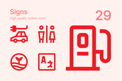 Signs Icons
