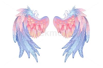 Delicate Angel Wings