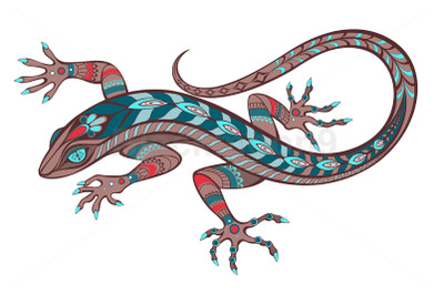 Patterned Lizard