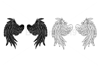 Silhouette Wings