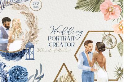 Wedding Portrait Creator Watercolor