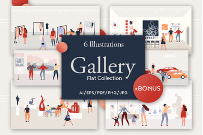 Gallery Flat Collection